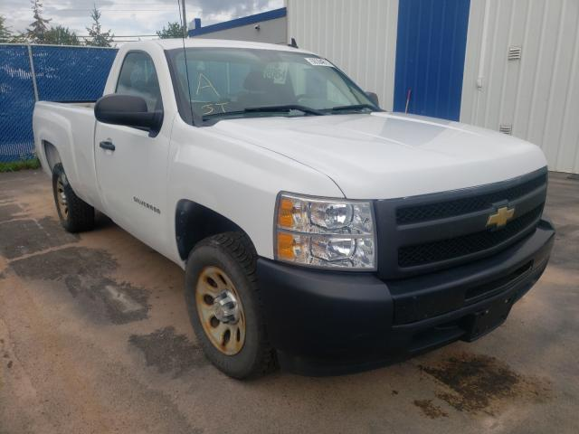 Salvage cars for sale from Copart Moncton, NB: 2010 Chevrolet Silverado