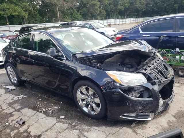 Vehiculos salvage en venta de Copart Austell, GA: 2012 Buick Regal