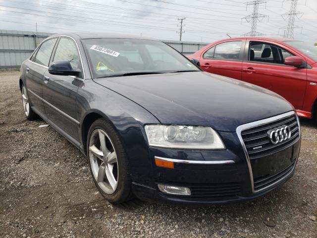 Audi A8 salvage cars for sale: 2009 Audi A8