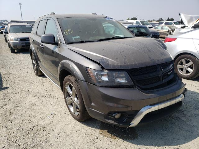 Salvage cars for sale from Copart Antelope, CA: 2017 Dodge Journey CR