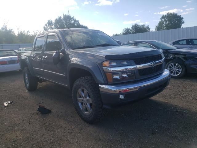 Salvage trucks for sale at Columbia Station, OH auction: 2009 Chevrolet Colorado