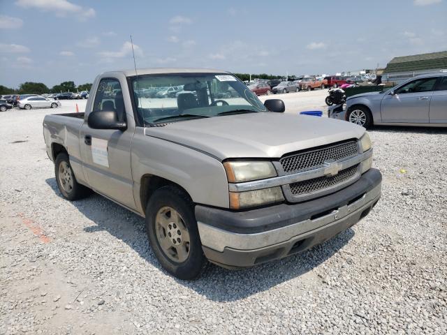 Salvage trucks for sale at Prairie Grove, AR auction: 2005 Chevrolet Silverado