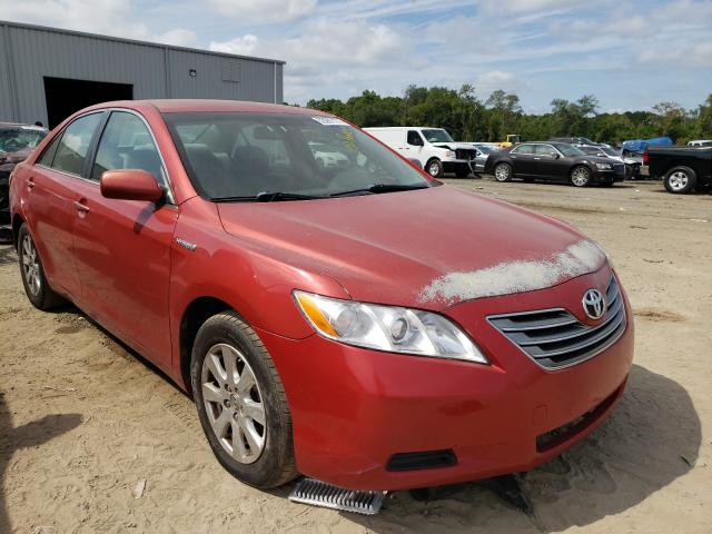 Salvage cars for sale from Copart Jacksonville, FL: 2007 Toyota Camry Hybrid