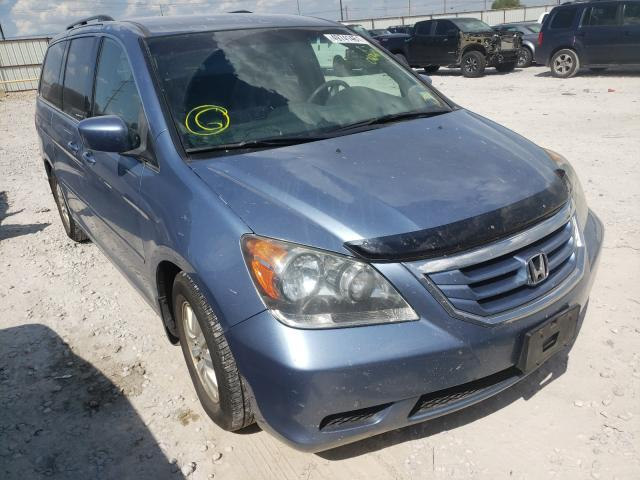 Salvage cars for sale from Copart Haslet, TX: 2008 Honda Odyssey EX