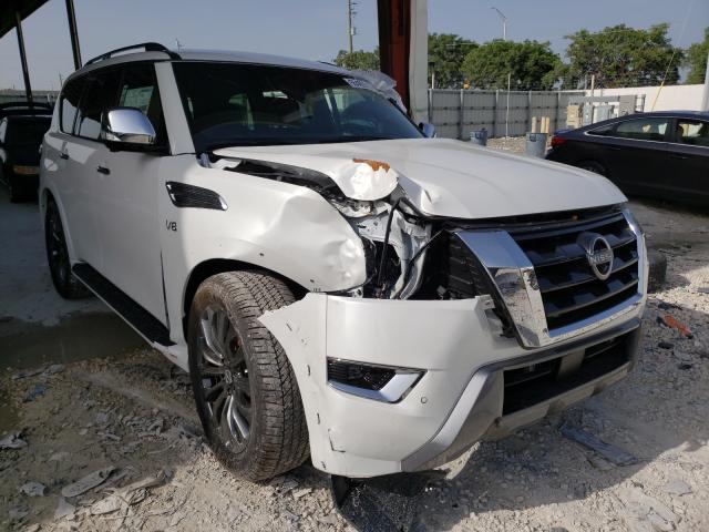 Nissan Vehiculos salvage en venta: 2021 Nissan Armada PLA