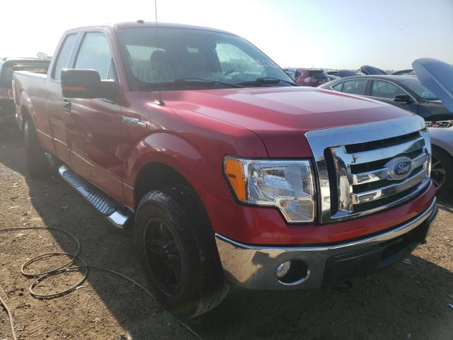 Salvage cars for sale at Elgin, IL auction: 2010 Ford F150 Super