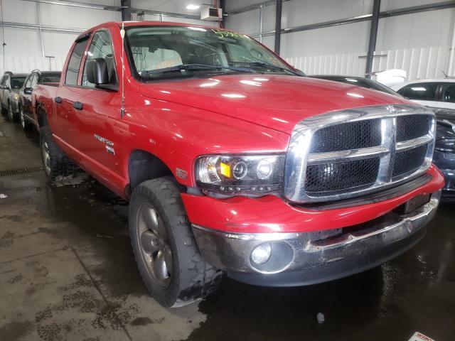 Salvage trucks for sale at Ham Lake, MN auction: 2004 Dodge RAM 1500 S