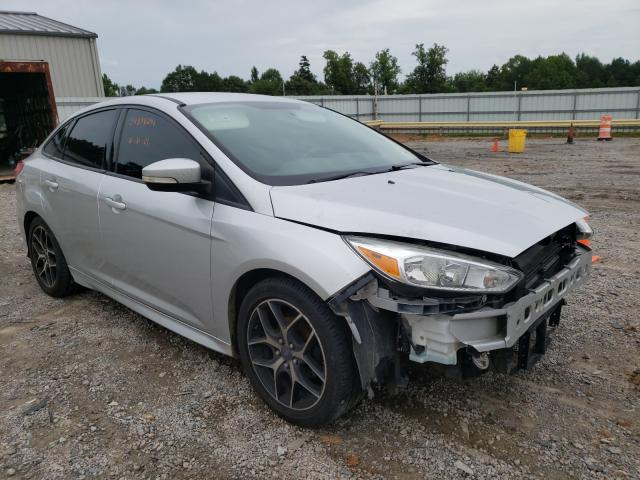 Salvage cars for sale from Copart Chatham, VA: 2015 Ford Focus SE