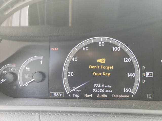 2011 MERCEDES-BENZ CL 550 4MATIC