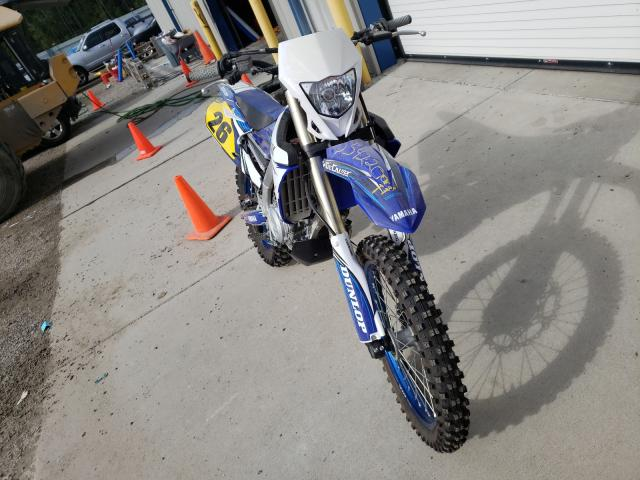 Salvage motorcycles for sale at Harleyville, SC auction: 2018 Yamaha WR450 F