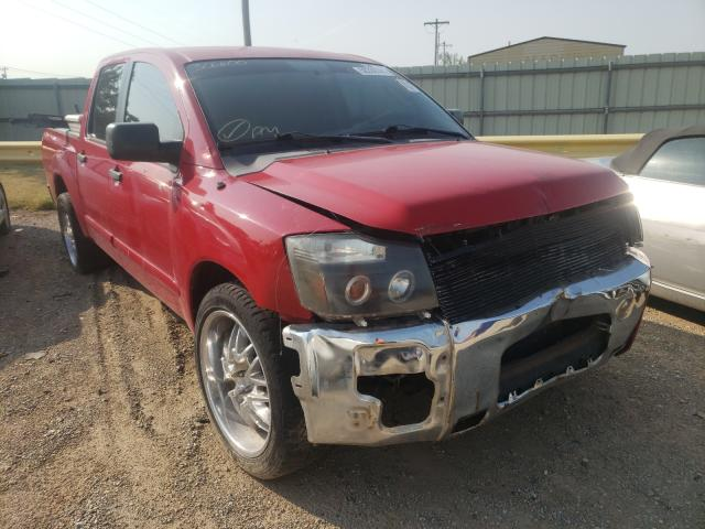 Salvage cars for sale from Copart Oklahoma City, OK: 2010 Nissan Titan XE