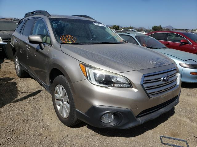 Salvage cars for sale from Copart San Martin, CA: 2015 Subaru Outback 2