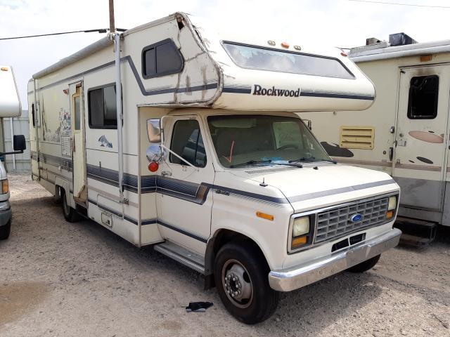Vehiculos salvage en venta de Copart Las Vegas, NV: 1991 Ford Econoline