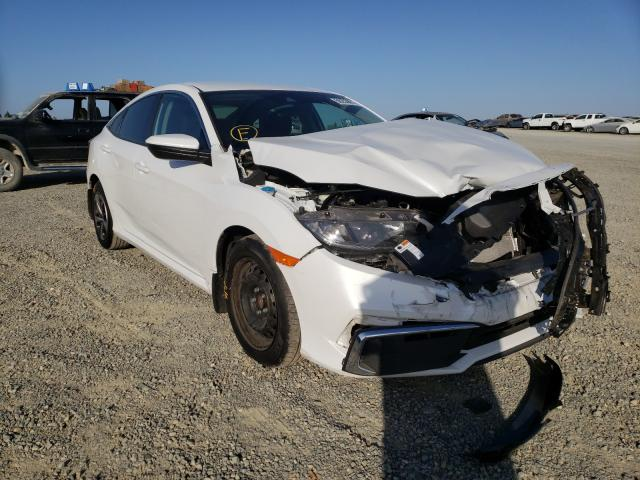 Salvage cars for sale from Copart Antelope, CA: 2020 Honda Civic LX
