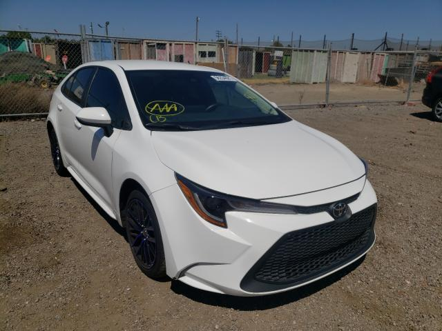 Salvage cars for sale from Copart San Martin, CA: 2020 Toyota Corolla LE