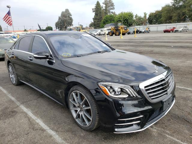 Mercedes-Benz salvage cars for sale: 2018 Mercedes-Benz S 450