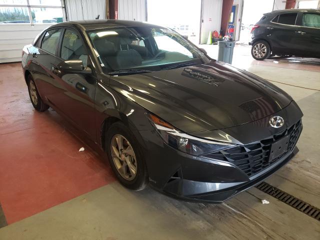 Vehiculos salvage en venta de Copart Angola, NY: 2021 Hyundai Elantra SE