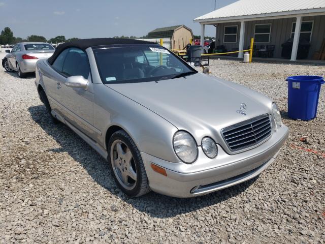 Salvage cars for sale at Prairie Grove, AR auction: 2000 Mercedes-Benz CLK 430