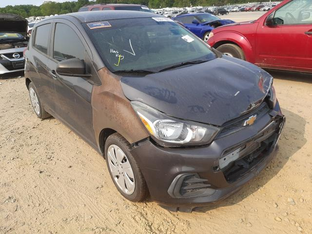 Salvage cars for sale at Conway, AR auction: 2016 Chevrolet Spark LS