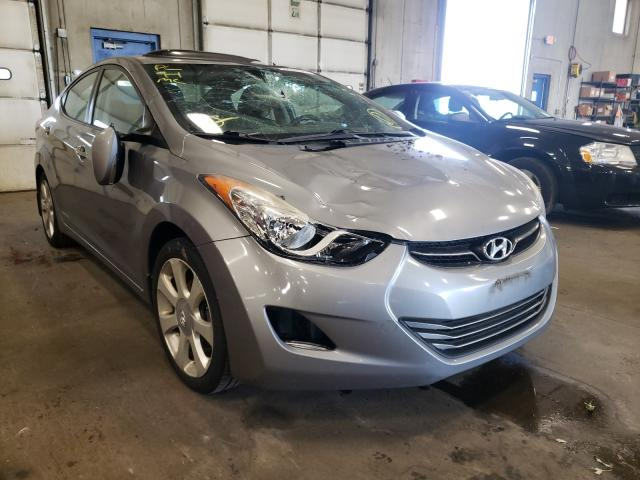 Salvage cars for sale from Copart Blaine, MN: 2013 Hyundai Elantra GL