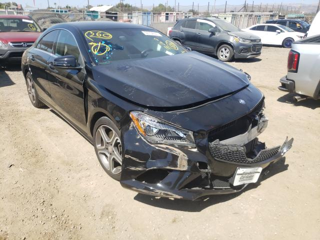 Salvage cars for sale from Copart San Martin, CA: 2014 Mercedes-Benz CLA 250