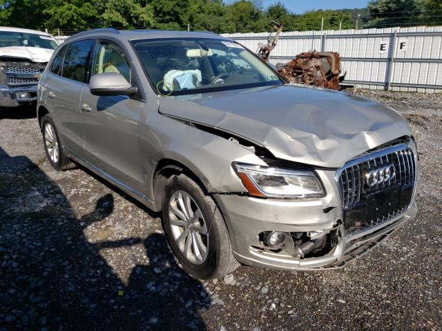 Salvage cars for sale from Copart Grantville, PA: 2014 Audi Q5 Premium