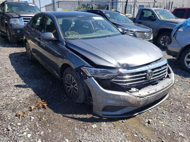 Salvage cars for sale from Copart Pennsburg, PA: 2019 Volkswagen Jetta S