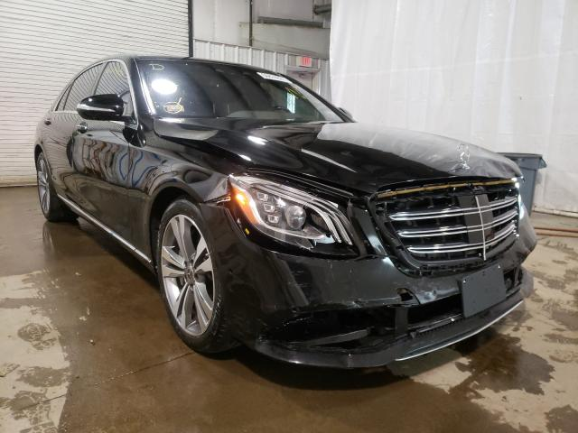 Salvage cars for sale from Copart Central Square, NY: 2019 Mercedes-Benz S 450 4matic