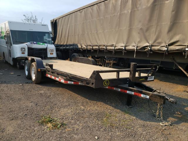 Salvage cars for sale from Copart Woodburn, OR: 2021 Utility Flatbed TR