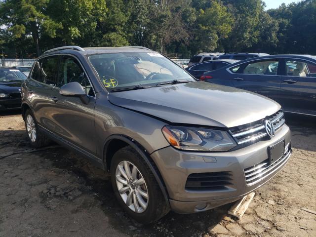 Vehiculos salvage en venta de Copart Austell, GA: 2012 Volkswagen Touareg V6