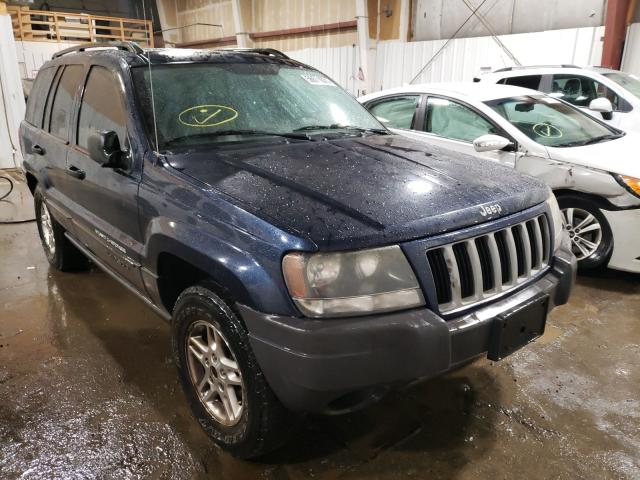 Salvage cars for sale at Anchorage, AK auction: 2004 Jeep Grand Cherokee