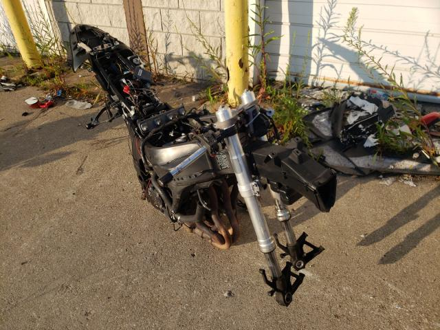 Salvage cars for sale from Copart Woodhaven, MI: 2007 Kawasaki ZX600 P