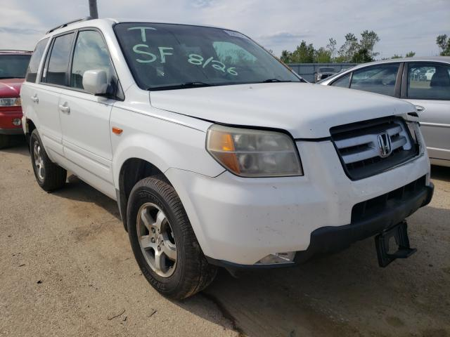 Salvage cars for sale from Copart Pekin, IL: 2006 Honda Pilot EX