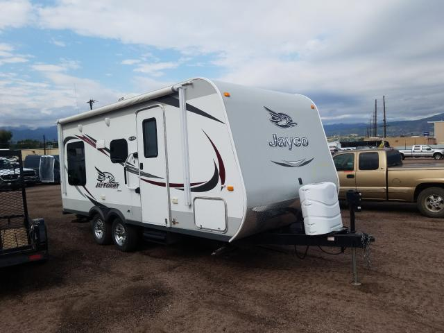 Salvage cars for sale from Copart Colorado Springs, CO: 2015 Jayco Jayflight