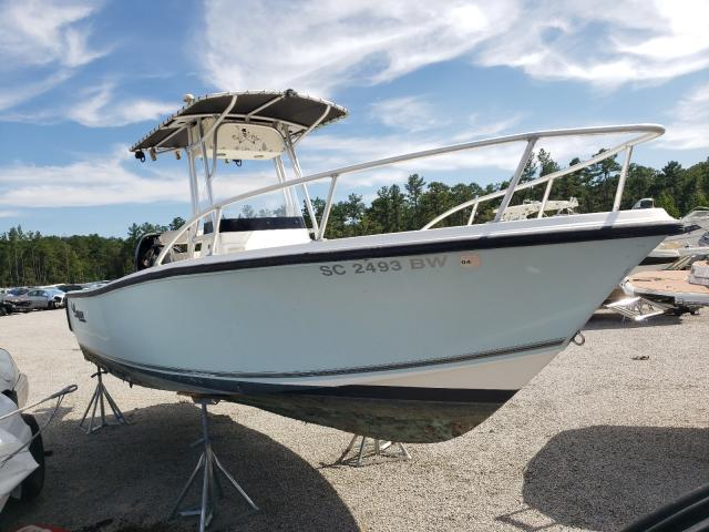 Salvage boats for sale at Harleyville, SC auction: 2006 Mako Boat Only