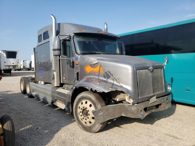Salvage cars for sale from Copart Wilmer, TX: 2006 International 9400 9400I