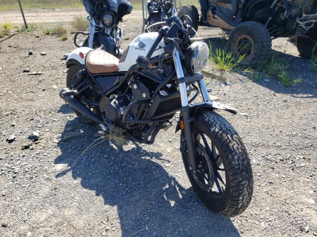 Salvage cars for sale from Copart Chambersburg, PA: 2021 Honda CMX500