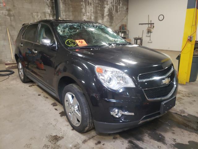 Vehiculos salvage en venta de Copart Chalfont, PA: 2015 Chevrolet Equinox LT