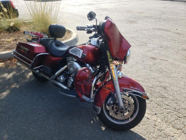 Salvage cars for sale from Copart Graham, WA: 2008 Harley-Davidson Flhtcui