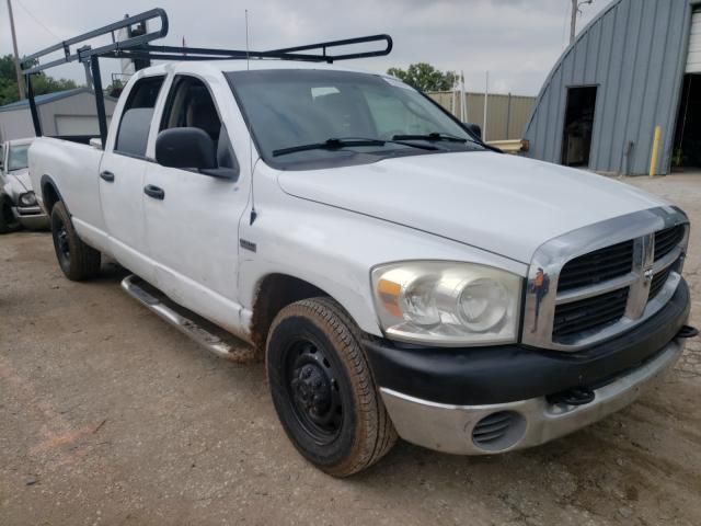 Salvage cars for sale at Wichita, KS auction: 2007 Dodge RAM 2500 S