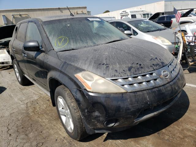 Salvage cars for sale from Copart Hayward, CA: 2006 Nissan Murano SL