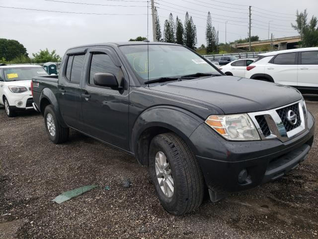 Salvage cars for sale from Copart Miami, FL: 2015 Nissan Frontier S