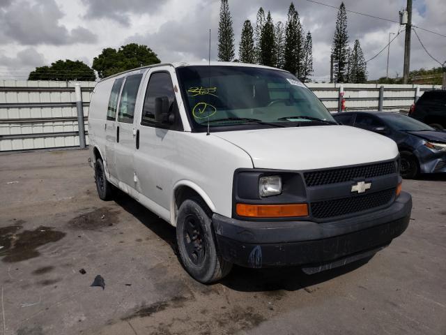 Vehiculos salvage en venta de Copart Miami, FL: 2005 Chevrolet Express G1