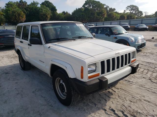 Vehiculos salvage en venta de Copart Fort Pierce, FL: 2001 Jeep Cherokee S