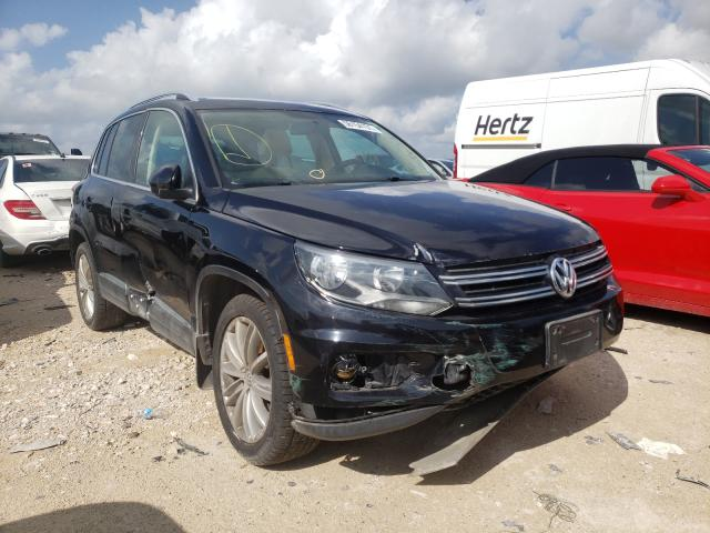Salvage cars for sale from Copart New Braunfels, TX: 2013 Volkswagen Tiguan S