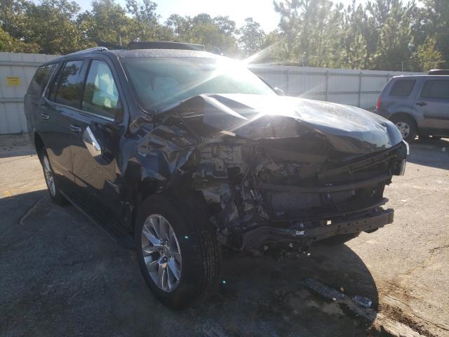 Vehiculos salvage en venta de Copart Gaston, SC: 2021 Chevrolet Tahoe C150