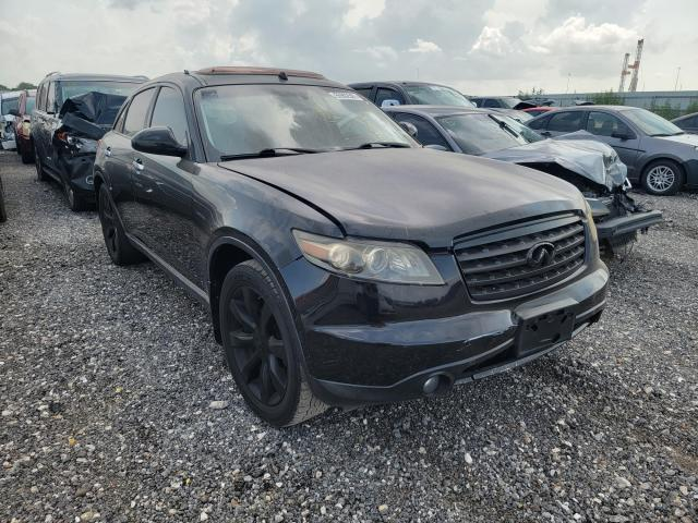 Salvage cars for sale at Houston, TX auction: 2008 Infiniti FX35