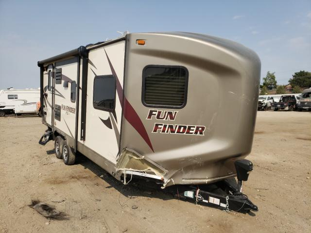 Funf salvage cars for sale: 2016 Funf Travel Trailer