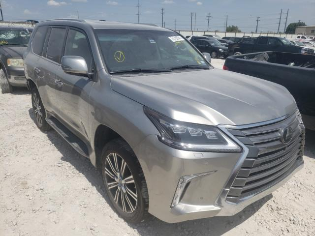 Salvage cars for sale from Copart Haslet, TX: 2021 Lexus LX 570