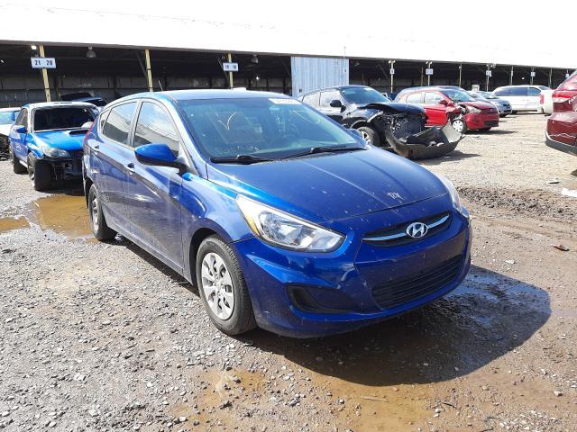 Salvage cars for sale from Copart Phoenix, AZ: 2016 Hyundai Accent SE